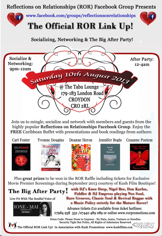 ROR Flyer front