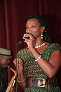 Cezanne performing at Ladies Day Oct 13
