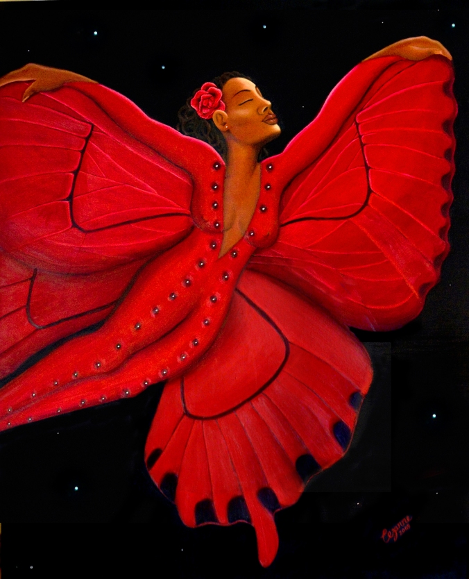 'Black Butterfly' by Cezanne 2009